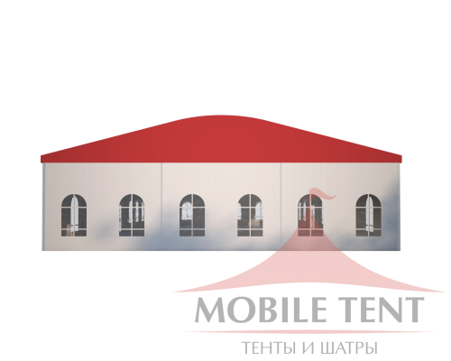 Шатёр для мероприятий 15х25 Схема 2