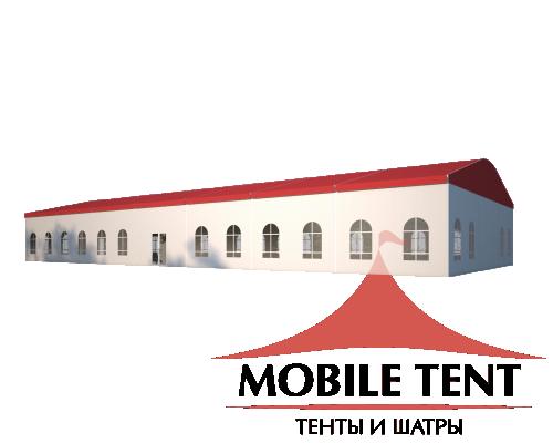 Шатёр для мероприятий 15х35 Схема 1