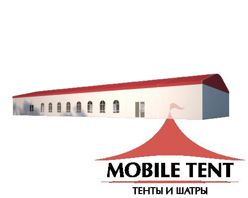 Шатёр для мероприятий 15х40 Схема 1