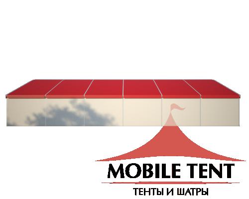 Шатёр для мероприятий 25х40 Схема 3