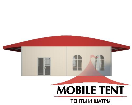 Шатёр для выставок 10х15 Схема 2