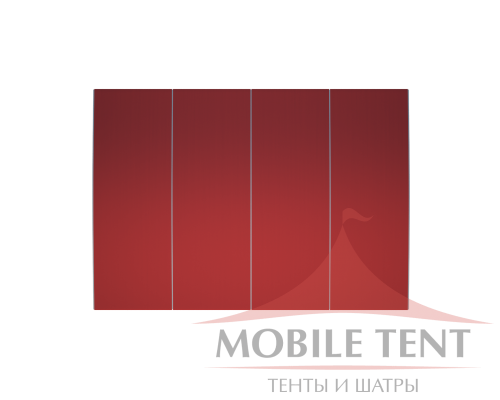 Шатёр для выставок 10х20 Схема 4