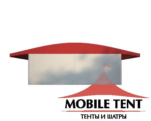 Шатёр для выставок 10х30 Схема 2