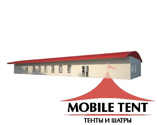 Шатёр для выставок 10х35 Схема 1