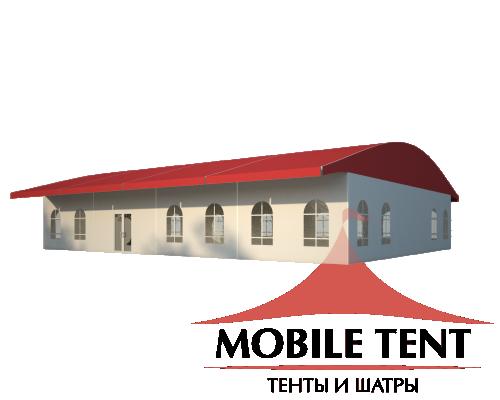 Шатёр для выставок 15х20 Схема 1