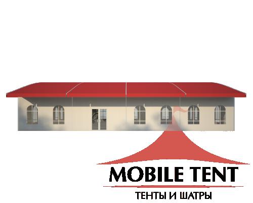 Шатёр для выставок 15х20 Схема 3