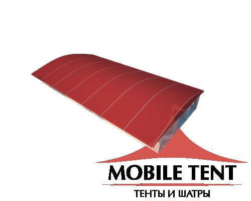 Шатёр для выставок 15х35 Схема