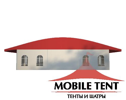 Шатёр для выставок 15х40 Схема 2