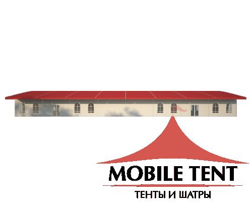 Шатёр для выставок 15х40 Схема 3