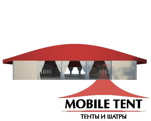 Шатёр для выставок 20х40 Схема 2