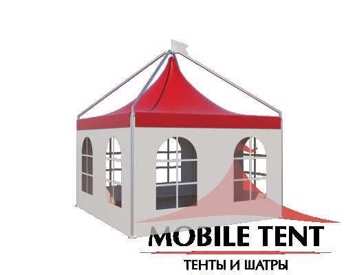 Шатры Пагода с острой крышей Лондон 4х4 Схема 3