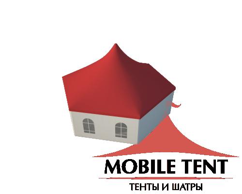 Шестигранный шатёр Римини (Диаметр 12 м) Схема