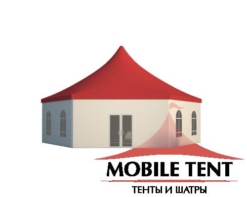 Шестигранный шатёр Римини (Диаметр 12 м) Схема 2