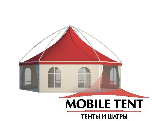 Шестигранный шатёр Лондон (Диаметр 10 м) Схема 2