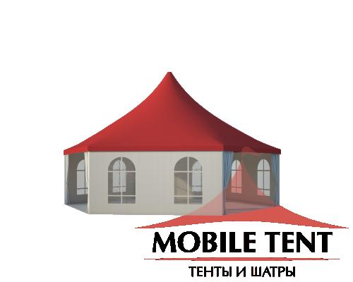 Шестигранный шатёр Стандарт (Диаметр 10 м) Схема 1