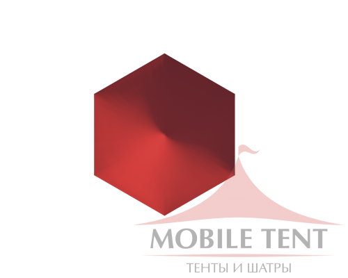 Шестигранный шатёр Стандарт (Диаметр 10 м) Схема 4