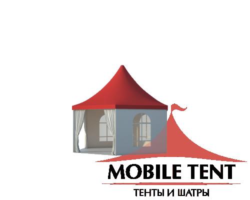 Шестигранный шатёр Стандарт (Диаметр 6 м) Схема 1