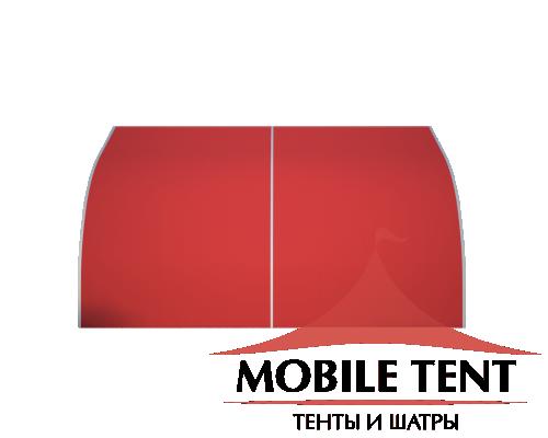 Тентовый ангар 10х10 Схема 2