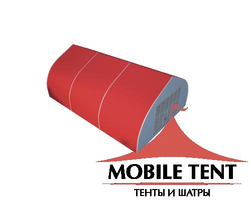 Тентовый ангар 10х15 Схема