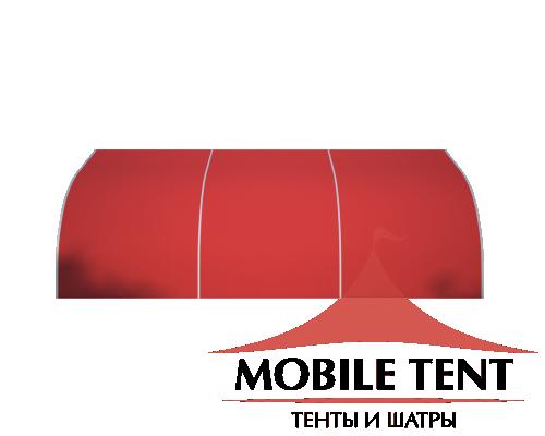 Тентовый ангар 10х15 Схема 2