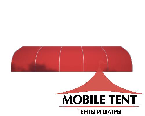 Тентовый ангар 10х25 Схема 3