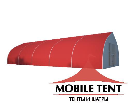 Тентовый ангар 10х25 Схема 1