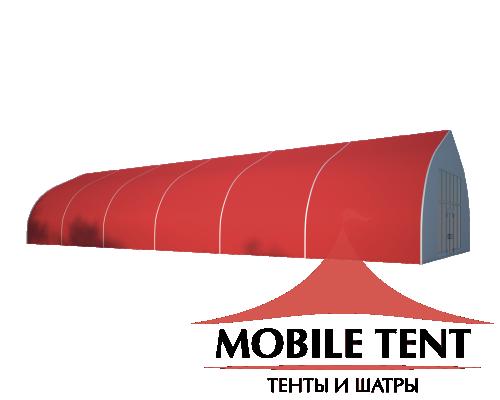 Тентовый ангар 10х30 Схема 1