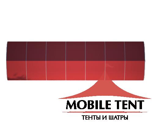 Тентовый ангар 10х35 Схема 4