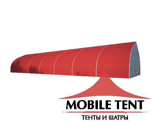 Тентовый ангар 10х35 Схема 1