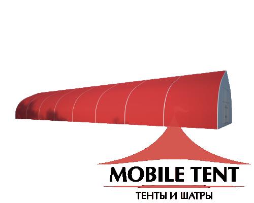 Тентовый ангар 10х40 Схема 1