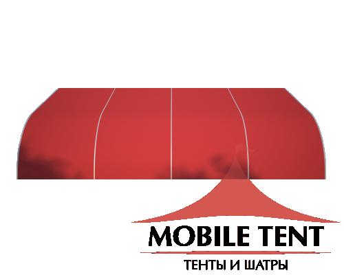 Тентовый ангар 15х20 Схема 3