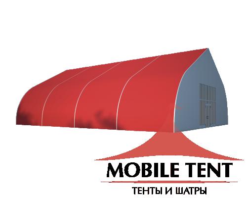Тентовый ангар 15х20 Схема 1