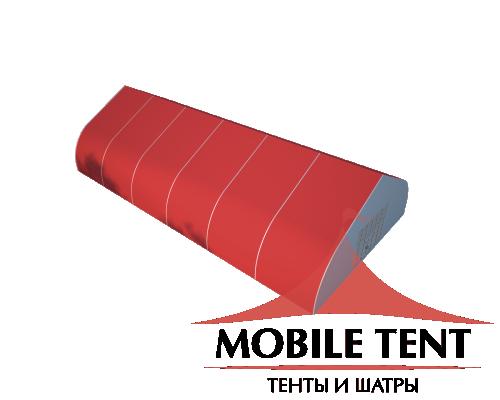 Тентовый ангар 15х30 Схема