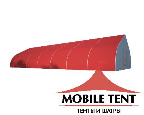 Тентовый ангар 15х35 Схема 1