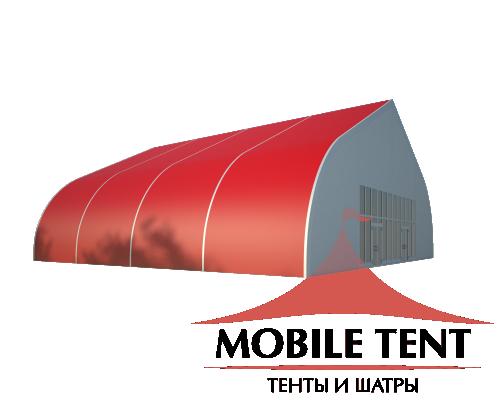 Тентовый ангар 20х20 Схема 1