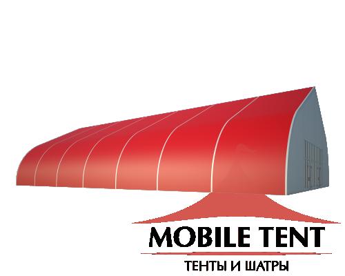 Тентовый ангар 20х35 Схема 1