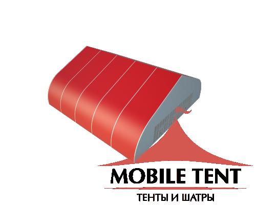 Тентовый ангар 25х25 Схема