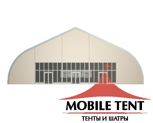 Тентовый ангар 25х35 Схема 2