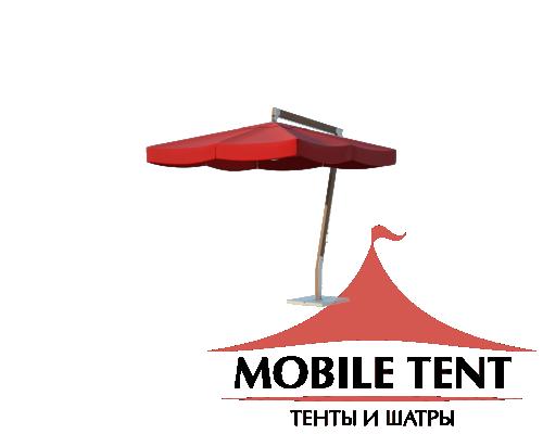 Зонт Premium Side 4х4 Схема 2