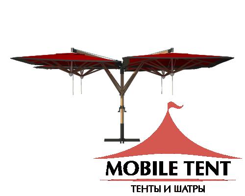 Зонт Quatro 4х4 Схема 4
