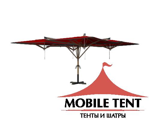 Зонт Quatro 8х8 Схема 2
