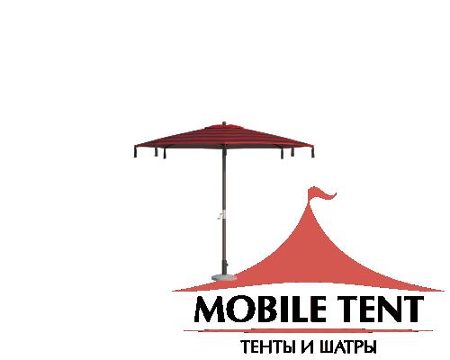 Зонт для кафе Tiger диаметр 4 Схема 3