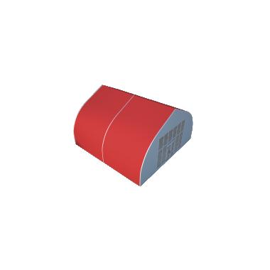 Тентовый ангар 10х10 Схема