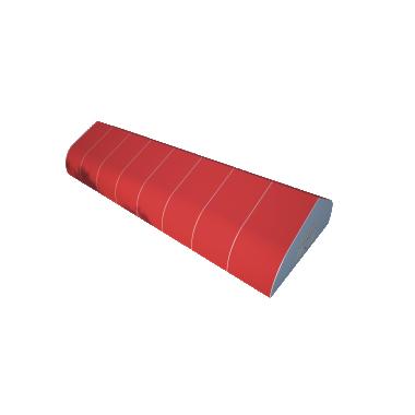 Ангар спортивный 15х40 Схема