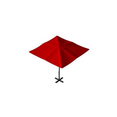 Зонт уличный для кафе Desert 4х4 Схема