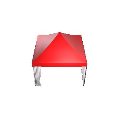 Мобильные шатры-трансформеры Prof 4х4 Схема