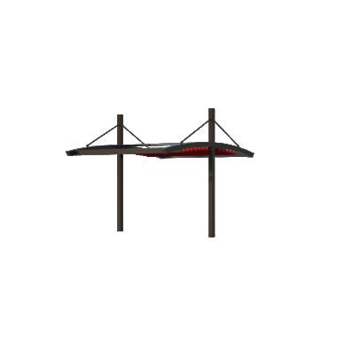 Пергола Двойная Подвесная 5х6 Схема