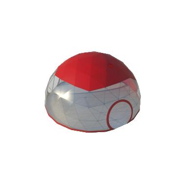 Сферический шатер диаметр 10 м Схема