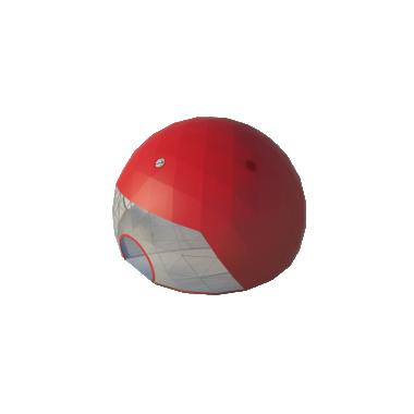 Сферический шатер диаметр 16 м Схема