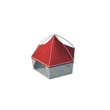 Шестигранный шатёр Лондон (Диаметр 8 м) Схема